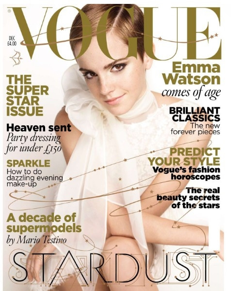 [MAGAZINE COVER] Emma Watson (Vogue). CaesarBrutus Wednesday, 3 November