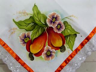 ramo de caju com flores