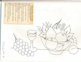 frutas para pintar