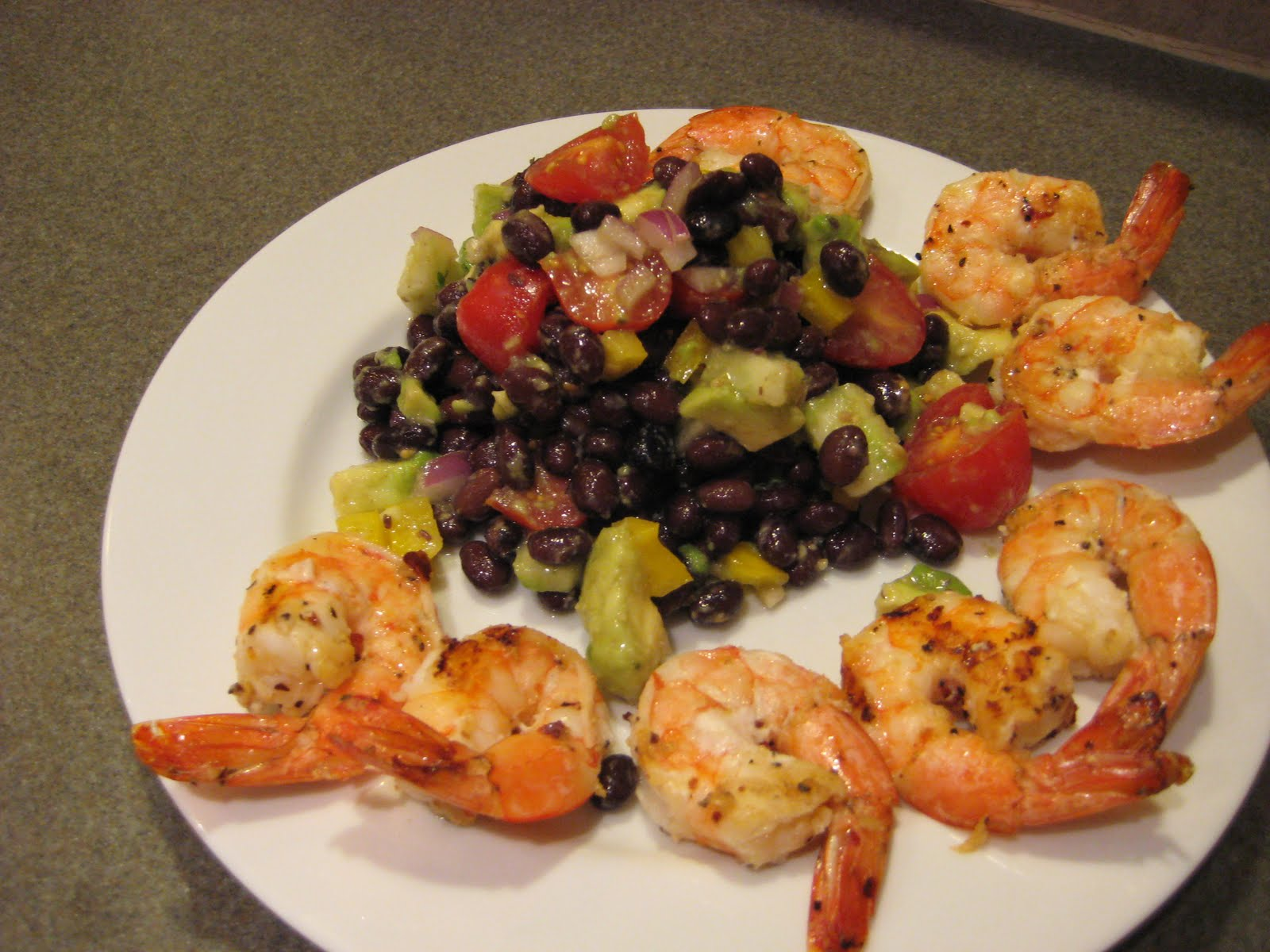 Will Cook for Shoes: Grilled Shrimp with Black Bean Salad