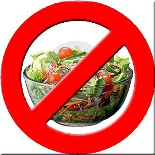 É proibido salada