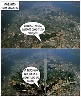 Buraco Negro no CERN