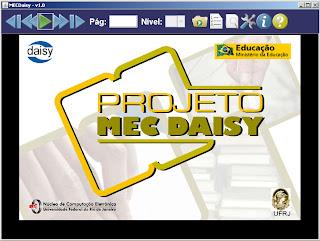 MEC Daisy - programa permite converter texto em áudio