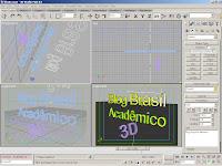 Preparando filme estereoscópico no editor de modelagem de sólidos