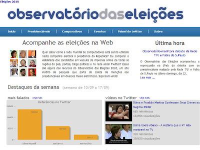 Observatório das eleições