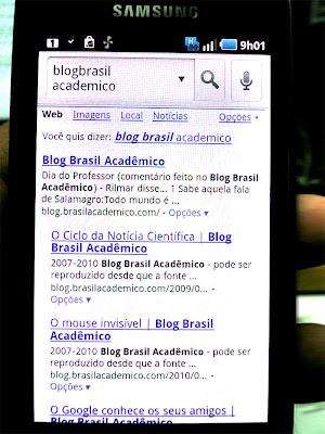 Pesquisa por voz: Blog Brasil Acadêmico