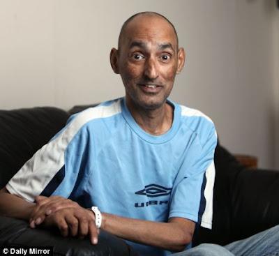 Arun Bhasin foi reavivado de parada cardíaca