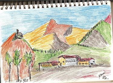 dibujos de viaje