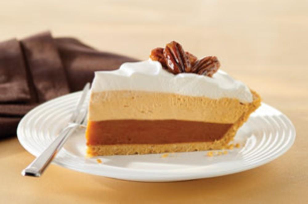 Goldiefysh S Kitchen Triple Layer Pumpkin Spice Pie
