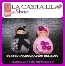 ¡¡¡GANADORA DEL SORTEO EN LA CASITA LILA!!!