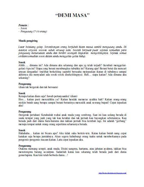 ramadhan texts pendek disembuhkan yang drama 4 pages pemain pendek