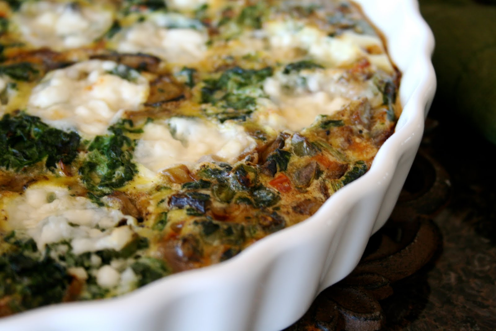 ... First Bite....Eating for a healthier life: Summer Vegetable Frittata