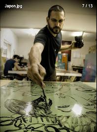 Taller de pintura y canto a cargo del Artista Plastico Pedro Cuevas