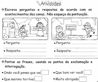 Espaço De Educar Tipos De Frases Explicação E Atividades