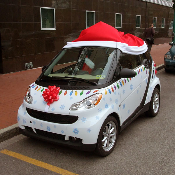 smart christmas1 Car Decorations Christmas | Decoration0