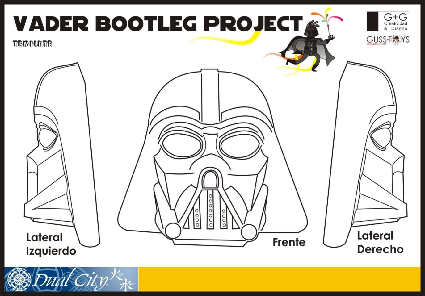 Magnífico Página Para Colorear De Darth Vader Motivo - Enmarcado ...