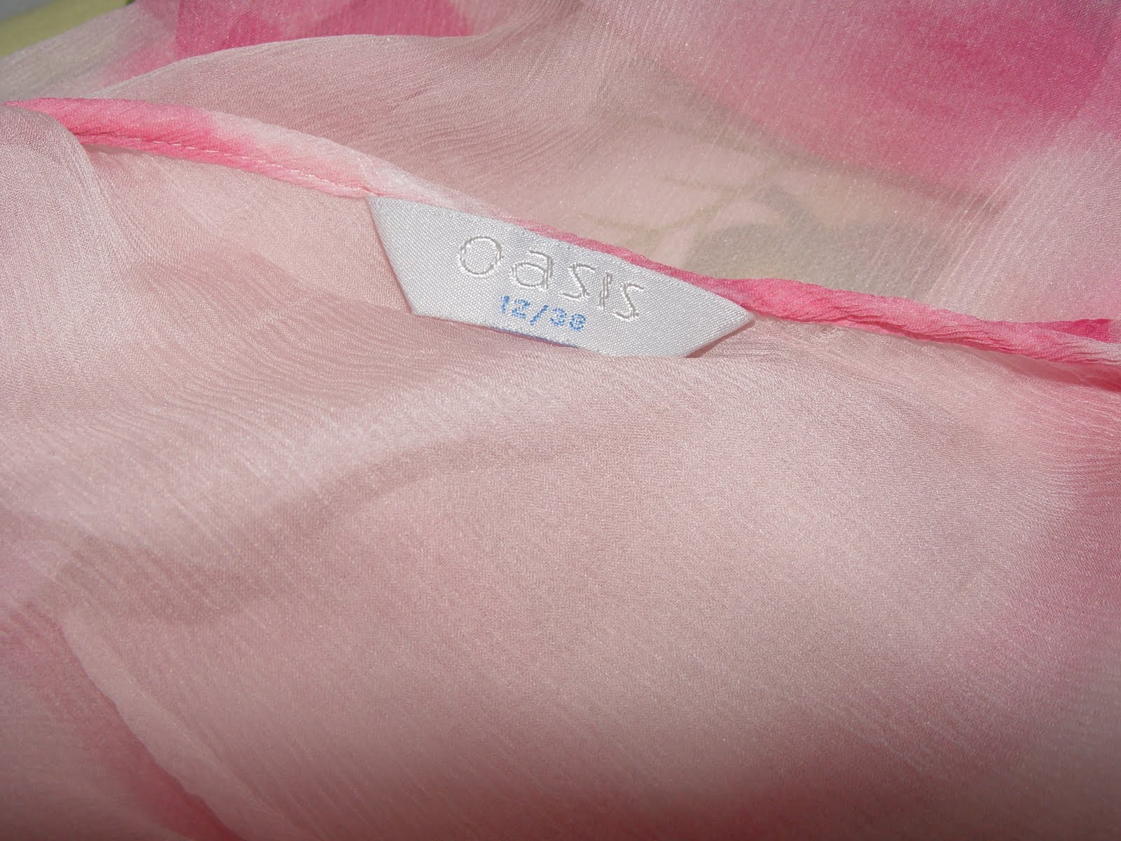 My Pre-loved items: Sweet Pink Blouse from OASIS