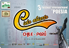 3º Festival Poético Cielo Abierto  Perú