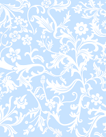 free blue flower scrapbook paper
