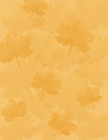 free orange fall leaves scrapbook paper