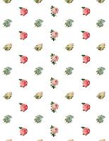 free flower scrapbook paper