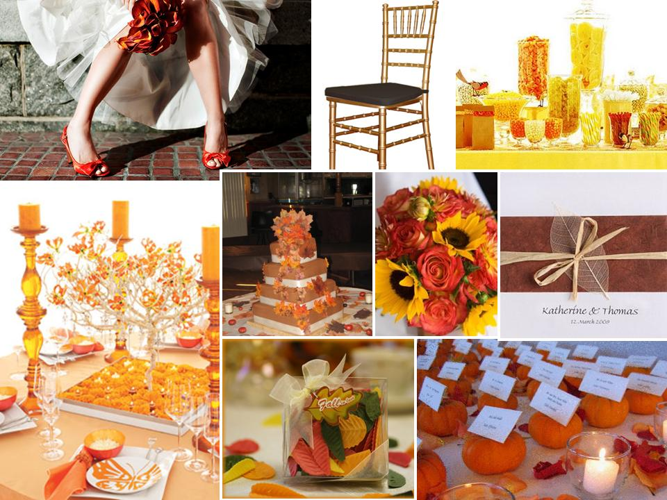 Fall themed weddingMy FAVORITE season is Fall for so many reasons