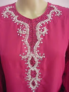 Baju Kurung Chiffon Bermanik Kristal