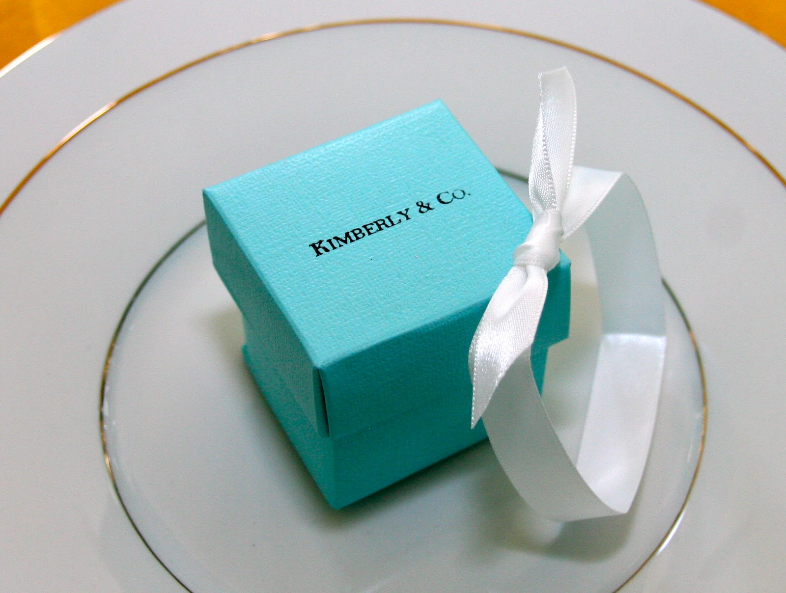 Diamond Wedding Favors