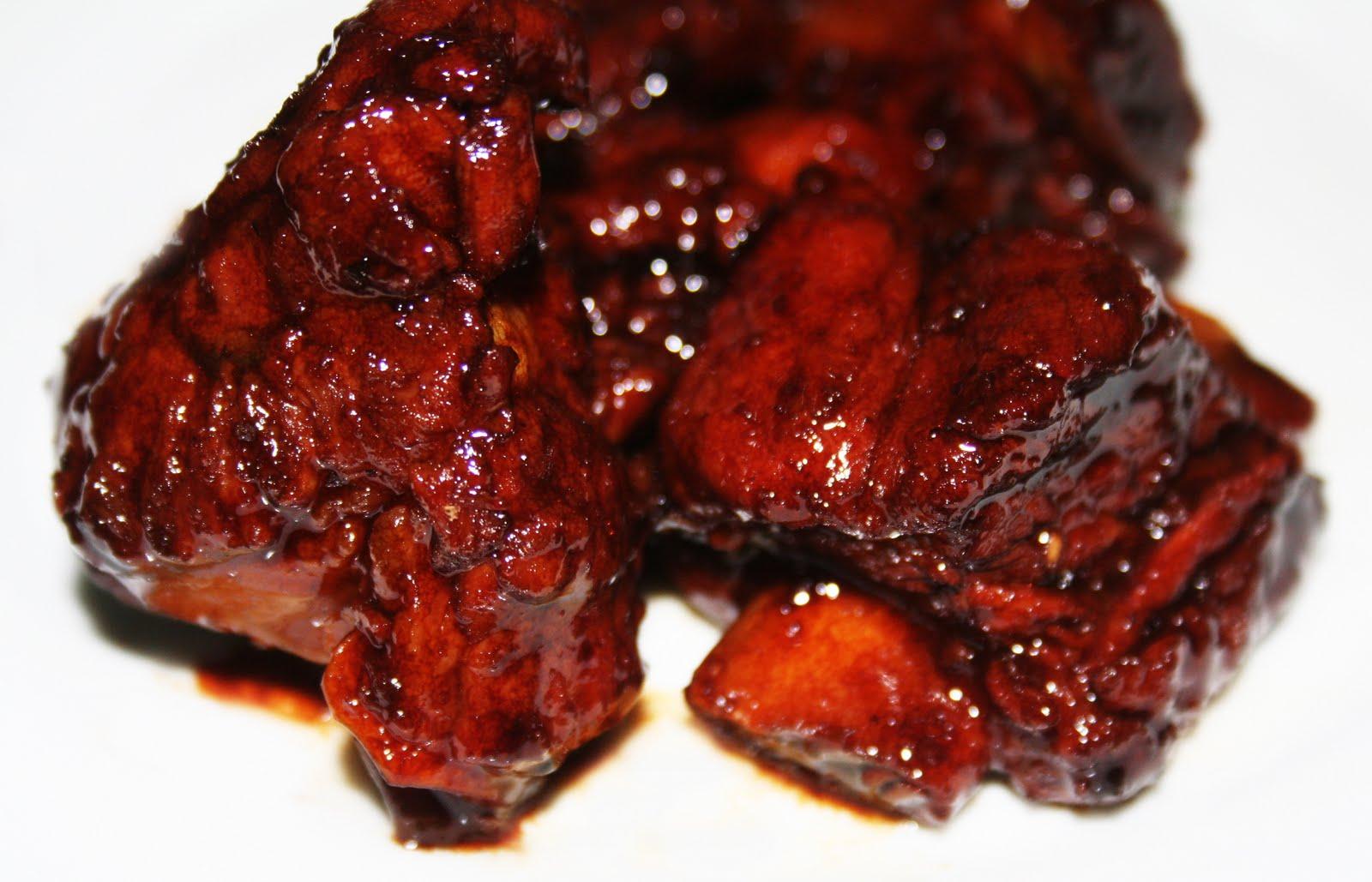 La cuisine de bernard travers de porc cantonais caram lis s - Cuisiner travers de porc ...