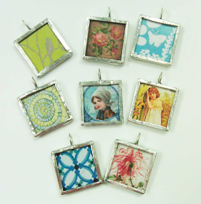 Soldered pendants