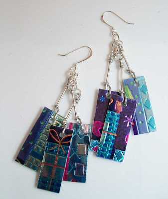 Starry Night Take Credit Earrings