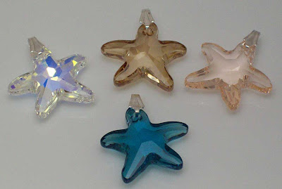 New Swarovski Starfish Pendants