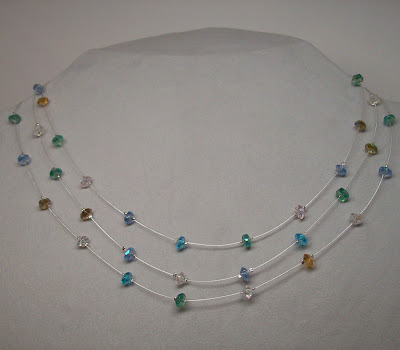Crystal Confetti Necklace