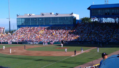 TCU - Florida State game at Rosenblatt
