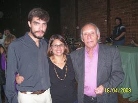 Silvia, Pablo Balbis y Mario Verandi