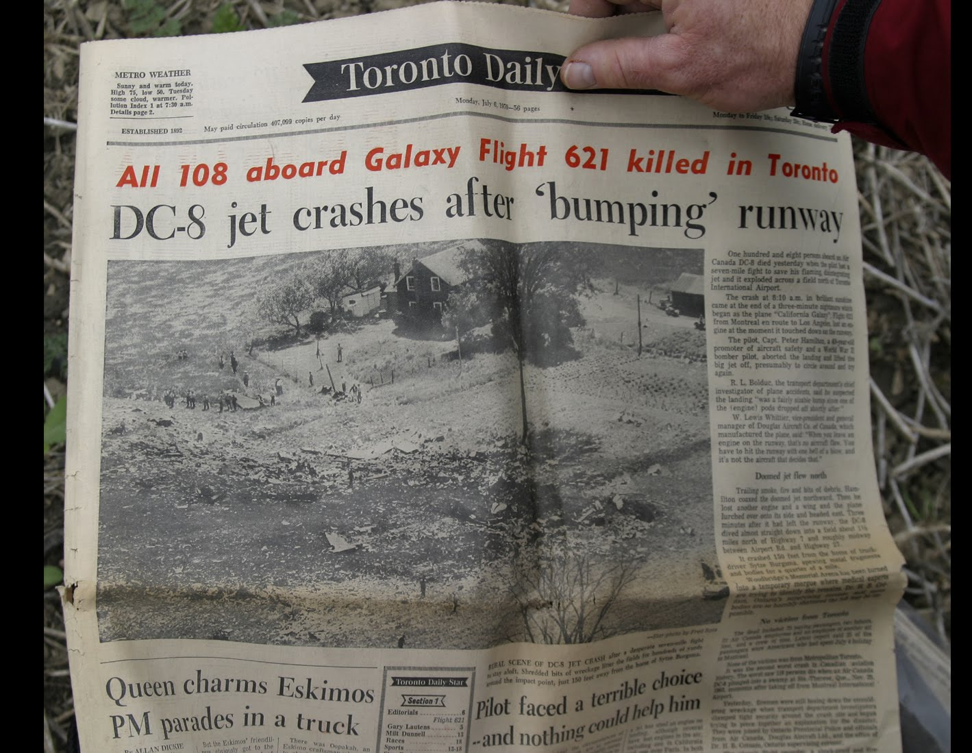 Air Canada's Galaxy FLIGHT 621—Toronto's LARGEST AIR DISASTER