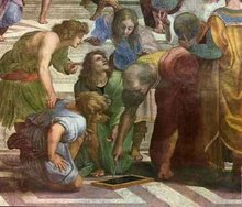 A Escola de Atenas...