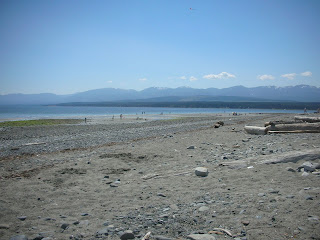 Goose Spit in Comox Valley, Canada