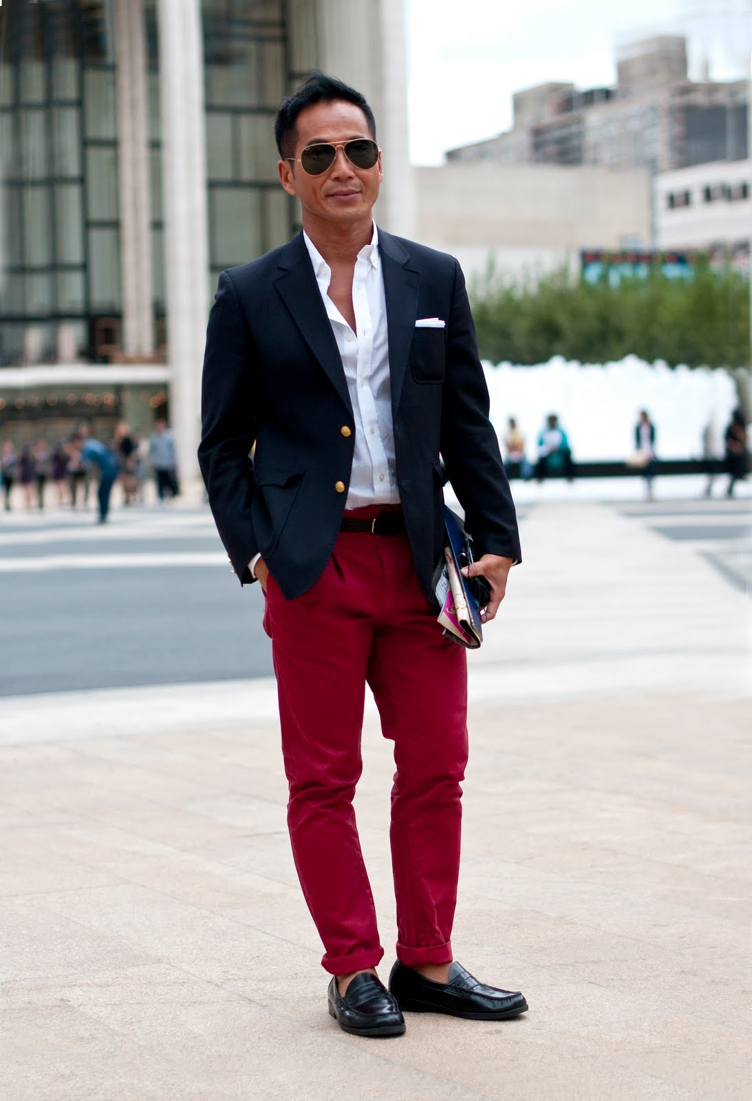 How does one successfully wear red pants? - Page 2
