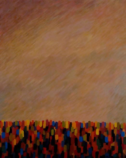 "Gathering | Acrylic | 24"" x 30"""