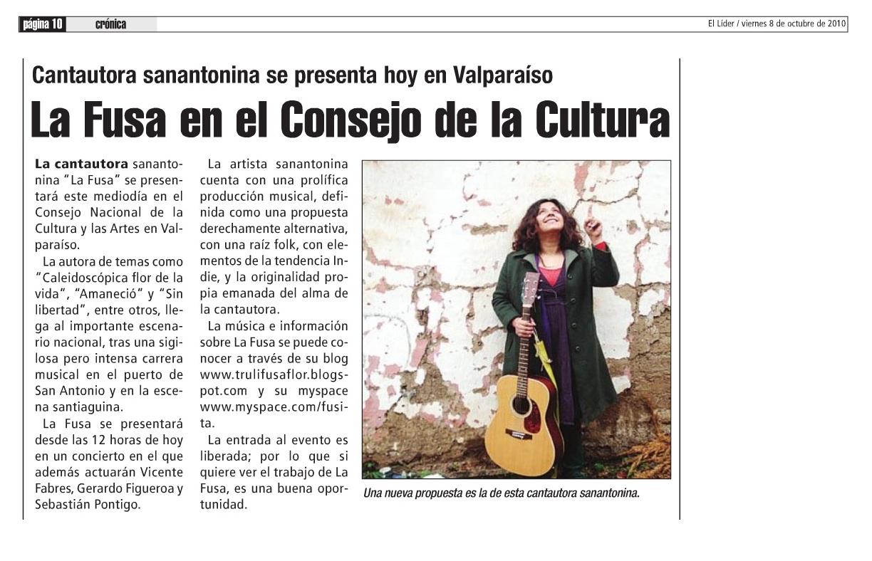 Diario El Líder - San Antonio 2010