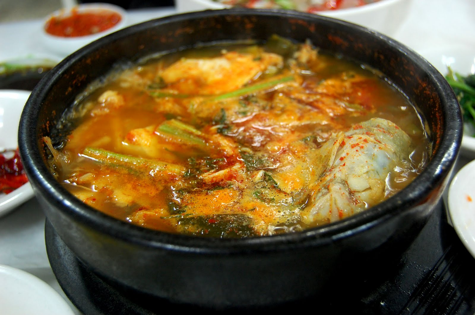 I 39 d try green eggs and ham koreabridge for Spicy fish soup