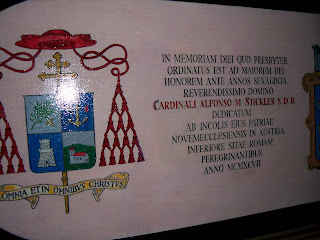 Orbis catholicvs worlds oldest cardinal 70 years a priest 27 2007 cwnews cardinal alfons stickler the oldest living member of the college of cardinals received a letter of congratulations from pope altavistaventures Choice Image