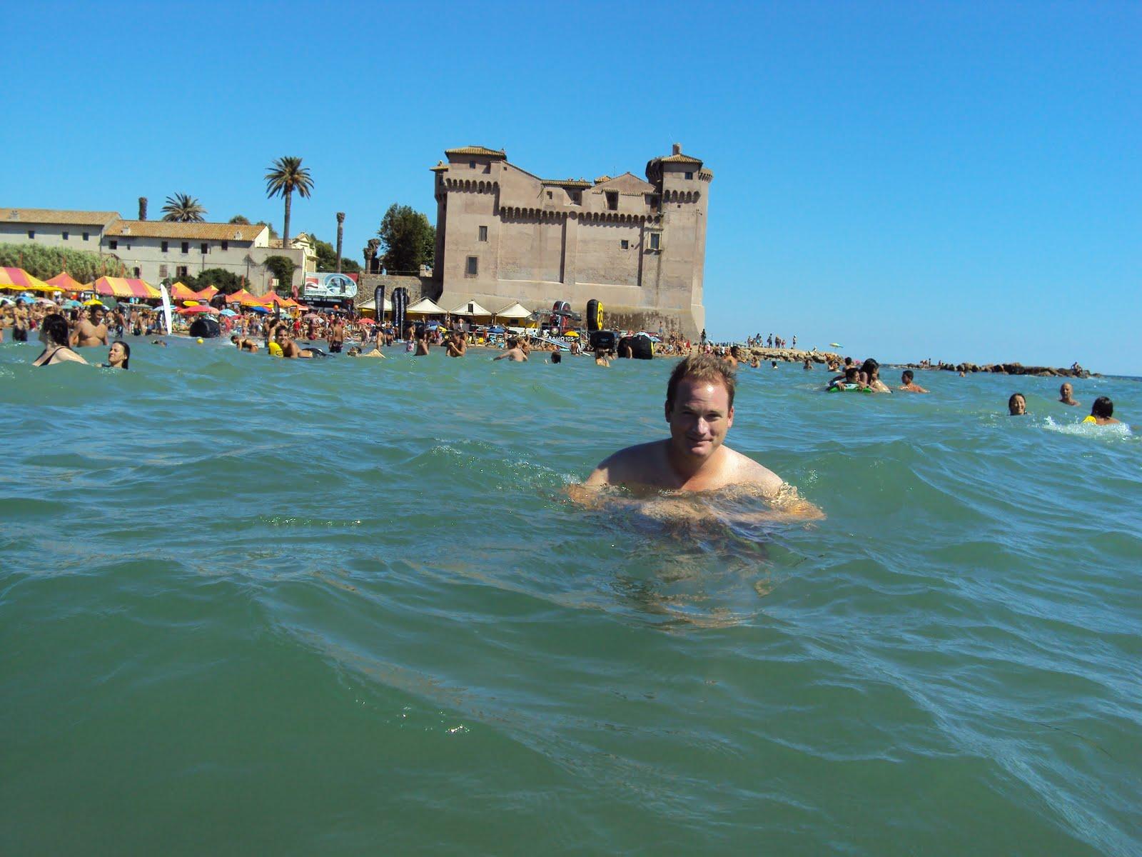 Orbis Catholicus Secundus Rome Beach Of Santa Severa