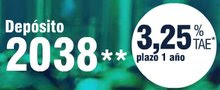 Depósito 2038 en Caja Madrid