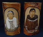 Ahna & Tata Birch Carvings