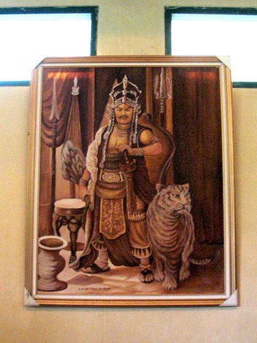 Lukisan Prabu Siliwangi