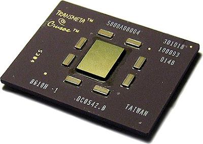 CPU Transmeta Crusoe