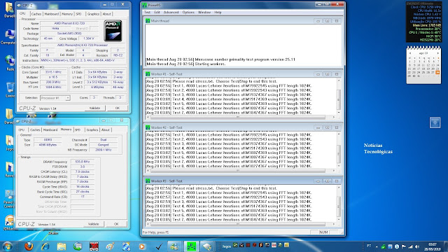 Testes de overclock ECS MCP61M M3
