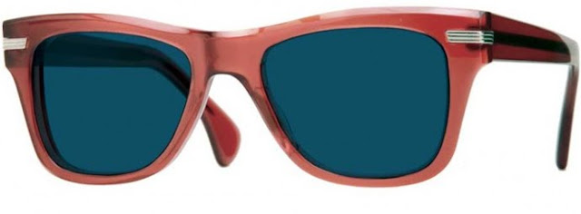 Zooey Deschanel x Oliver Peoples: Zooey sunglasses in RBR with slate